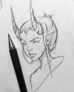 Day 488 Enjoying holidays time drawing a lot listening to good music planning the upcoming year and being creative. Love your close ones #art #artist#sketch #sketchbook #challenge #portrait #character #concept #conceptart