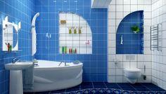 Ванная – это место в вашей квартире, где вы можете взбодриться, в начале рабочего дня, либо расслабиться перед сном