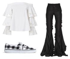 """Mila's casual wear"" by pantsulord on Polyvore featuring Marco de Vincenzo, Exclusive for Intermix and Madewell"