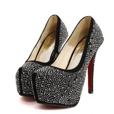 Shinny World High Heel Pumps In 2 Colors