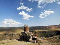 Ruined church, Ani, Turkey