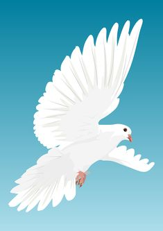 The Classical Pentecostal Teaching about the Baptism in the Holy Spirit & other Significant Christian Views on the Work of the Holy Spirit - God Be Glorified - English Free Pictures, Free Images, Azusa Street, Dove Bird, Holy Spirit, Holi, Birds, Christian, Animals