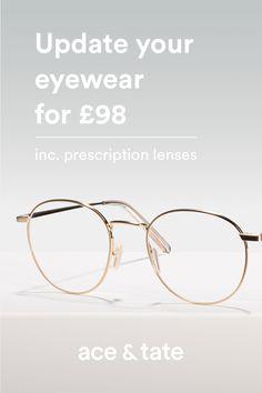 8a08f808c9 Neil Satin Gold. Prescription glasses ...