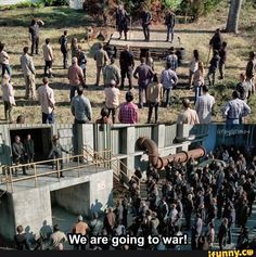 """All Out War. The Walking Dead S07 E16 """"The First Day of the Rest of Your Life."""" Season 7 Episode 16. #twd"""
