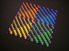 Hama perler bead coasters by Villi.Ingi