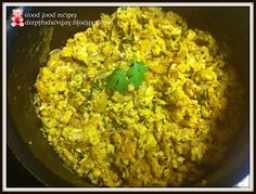 Indian Style Scrambled Eggs Recipe