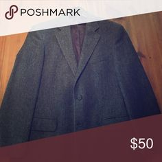 Brooks Brothers Classic Sportcoat Always stylish gray tweed.. heavier wool.. great  with jeans and Button Down. Rarely worn! Suits & Blazers Sport Coats & Blazers