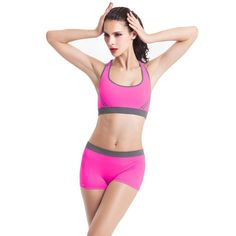 Aliexpress.com : Buy S&T Company Women Yoga Sets Running Sports Bra + Shorts Set Fitness Gym Push Up Seamless Bras Tops Elastic Short Pants for Women from Reliable bra display suppliers on S&T Global Sport Store | Alibaba Group