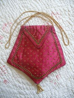 Original Regency beaded silk reticule purse c1800-1825, Georgian antique | eBay