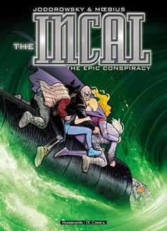The Incal: The Epic Conspiracy by Jodorowsky and Moebius