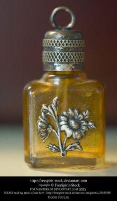 Perfume Bottle by FreeSpirit-Stock on DeviantArt