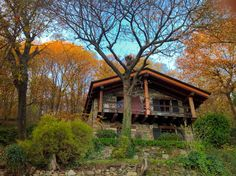 Check out this awesome listing on Airbnb: The Casetta nel Bosco Lake Maggiore - Cabins for Rent in Comnago