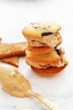 speculoos ice cream sandwich