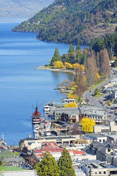Queenstown And Lake Wakatipu, Queenstown, New Zaland