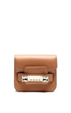 Ps11 Tiny In Biscotti Leather by Proenza Schouler for Preorder on Moda Operandi