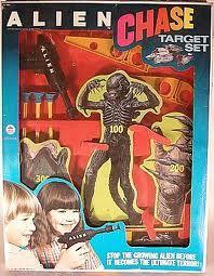 vintage alien movie dart gun target - Google Search