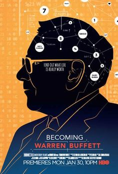 A fascinating man. A fascinating documentary. BECOMING WARREN BUFFETT. Check out the trailer now!