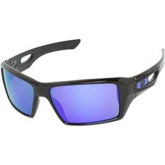 Let your true personality shine through with these authentic Oakley sunglasses. These classic sunglasses feature a unique blend of originality and a classic look. The purple gradient lens blended with the black frame creates a look that will make you stand out in a crowd. 100% U.V. Protection.
