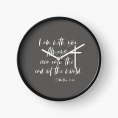 Modern Prints, Art Prints, Weird Holidays, Quartz Clock Mechanism, End Of The World, Christian Gifts, Meaningful Gifts, Wall Clocks, Hand Coloring