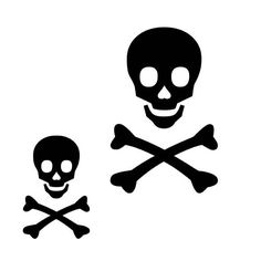 How to make pirate  flags | Click here: http://0.tqn.com/d/diyfashion/1/0/R/5/-/-/Pirate01.jpg