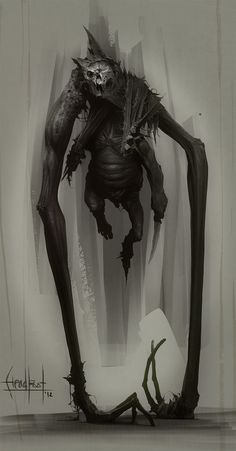 """scifi-fantasy-horror:  """"Headfoot"""" by Marat-Ars"""