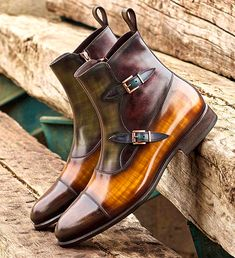 sale shoes Mens handmade leather boots for sale Slip On Shoes, Men's Shoes, Shoe Boots, Dress Shoes, Mens Boots Fashion, Boots For Sale, Dress With Boots, Luxury Shoes, Custom Shoes