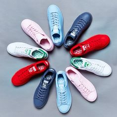 premium selection a7a25 d53ee adidas Stan Smith x Raf Rimmons Spring 2015 Collection - KixandtheCity.com  Stan Smith Colors