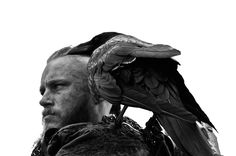 Travis Fimmel as Ragnar Lothbrok, shot by Robert Jefferson Hall.