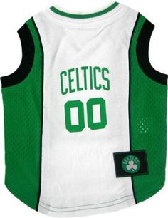 Officially licensed NBA Boston Celtics Dog Clothing. Dress your pet in game  day gear and 6b407cf39