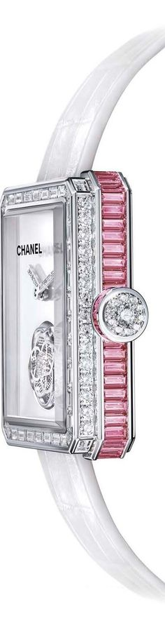 "Chanel Watch - ""O Children of Adam Wear your beautiful apparel at every time and place of prayer: eat and drink: but wast not be excess, for Allah loveth not the wasters."" Surah Araf, 31"