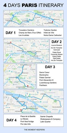 Ultimate travel guide for Paris (for first-time visitors) // 4 days sample trip . Ultimate travel guide for Paris (for first time visitors) // 4 days sample itinerary . Paris France Travel, Paris Travel Guide, Travel List, Travel Guides, Travel Hacks, Italy Travel, Thailand Travel, Paris Tips, Budget Travel