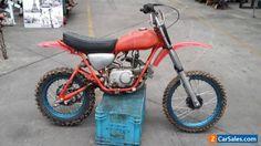 Honda SL70 Setup for Pre 80's racing bike. Similar to Z50R XR75 XR80 Mini Trail #honda #sl70 #forsale #australia
