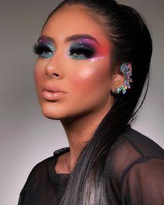 Makeup Blog, Beauty Makeup, Hair Makeup, Hair Beauty, Prom Makeup Looks, Beautiful Eye Makeup, Eyeshadow Looks, Colorful Makeup, Makeup Inspiration