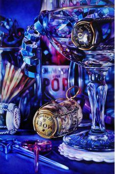 Kate Brinkworth ~ still life hyper-realistic art