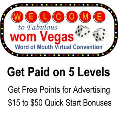 Wom Vegas Word of Mouth Virtual Convention Center - http://womVegas.com/affiliate.php?id=377