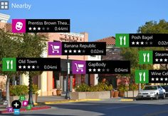 Nokia's augmented reality app