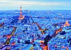 """Puzzle EDUCA """"Luces de París"""", 1.000 piezas  #paris #eiffel #city #ciudad"""
