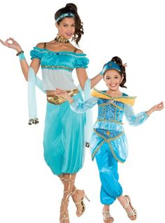 Jasmine Mommy and Me Costumes - Party City