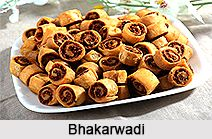 Bhakarwadi is a spicy namkeen of Maharashtra as well as Gujarat. It is a savoury snacks item that can be relished in tea time. For the recipe visit the page. #snacks #recipes #food