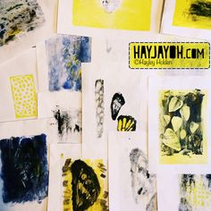 It's really good to get out of digital and be messy! Click through to read about my fun Mono Printing day