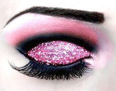 Oooh pink glitter goodness!