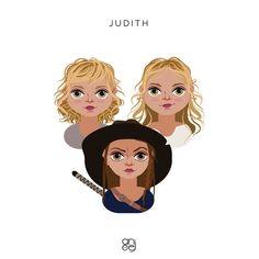 """Angelica Jimenez on Instagram: """"Judith, Judith Grimes #TWD"""" Judith Grimes, Disney Characters, Fictional Characters, Disney Princess, Instagram, Fantasy Characters, Disney Princesses, Disney Princes"""