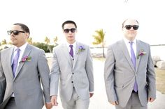 gray suits for mens wedding look