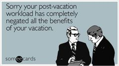 Pics For Back To Work After Vacation Funny
