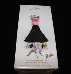 Hallmark Keepsake Ornament; Barbie; The Perfect Evening Out. 2006.