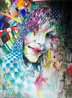 Colorful Work by Minjae Lee