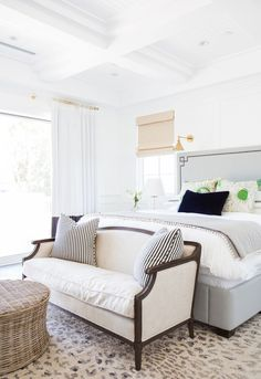 Master Bedroom Design by Studio McGee-benjamin-moore-color-of-the-year-simply-white Interior Design Bedroom, Interior Design, Bedroom Decor, Beautiful Bedrooms, Bedroom Interior, Home, Bedroom Inspirations, Home Bedroom, Home Decor