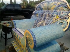 Is this the coolest pool chair or what?
