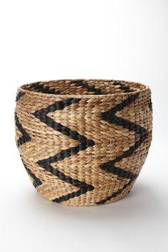 Nate Berkus Chevron Pattern Storage Basket