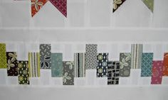 There's a new quilt hanging in my living room, and when I say new quilt I mean new quilt! This is this quilt's world premiere, from my. Strip Quilts, Panel Quilts, Scrappy Quilts, Quilt Blocks, Quilting Tutorials, Quilting Designs, Quilting Ideas, Longarm Quilting, Nancy Zieman